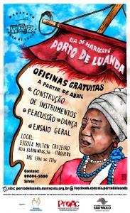 Oficinas gratuitas na Cia Porto de Luanda, aproveitem!!